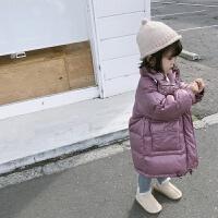 男童女童羽绒服中长款2018新款童装宝宝冬装儿童防风外套