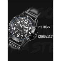 简约男生防水青少年休闲机械手表