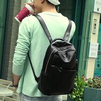 男士小背包时尚潮流真皮双肩包韩版大学生书包简约休闲包牛皮男包