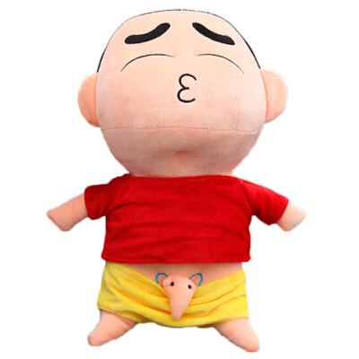 丑萌恶搞创意蜡笔小新公仔搞怪毛绒玩具玩偶布娃娃抱枕生日礼物女 发货周期:一般在付款后2-90天左右发货,具体发货时间请以与客服协商的时间为准