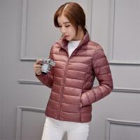 超溥款小款羽绒服女短款土冬季新款韩版修身轻薄博簿�`蒲外套 3X