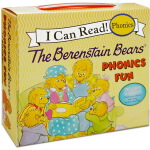 【12册】HarperCollins The Berenstain Bears Phonics Fun 贝贝熊 I C