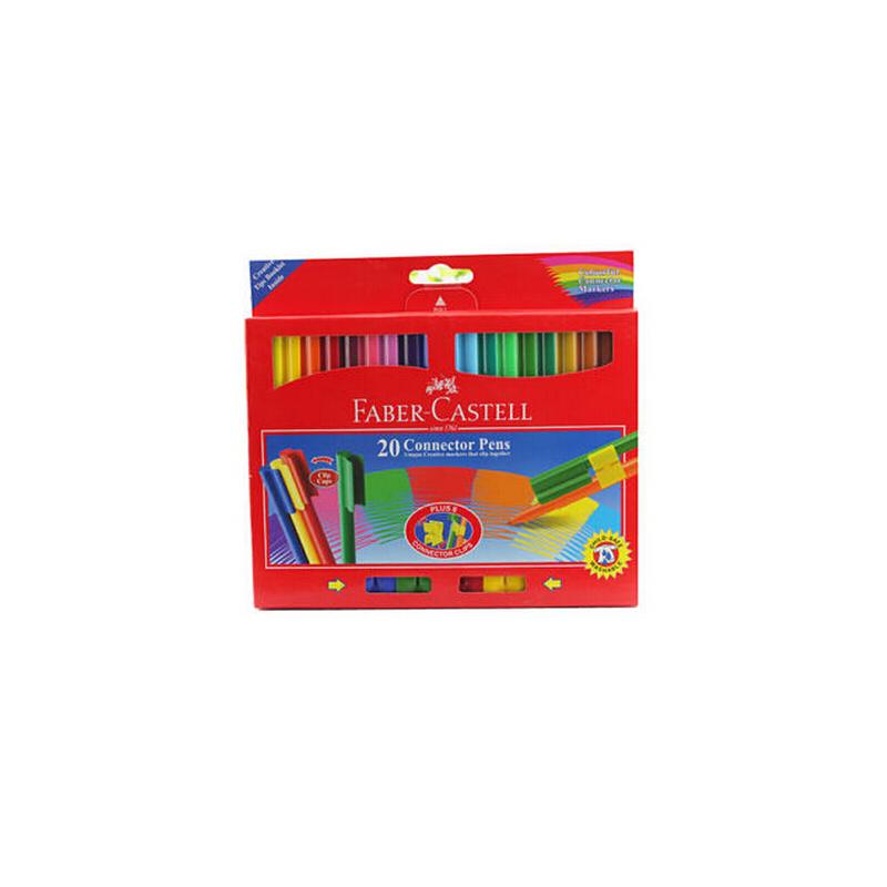 辉柏嘉 11200-A 20色 可拼砌水彩笔 原装进口 创意儿童水彩笔