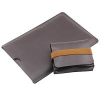 微软 surfacebook 2代13.5 笔记本电脑包 保护套 内胆包 防刮 鼠标款 摩卡棕2件