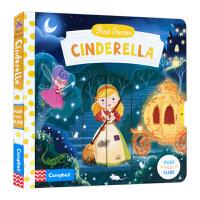 BUSY系列 童话篇 灰姑娘 英文原版绘本 First Stories Cinderella 进口纸板书 操作机关书