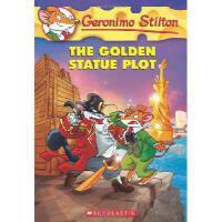 英文原版 老鼠记者55:金色的雕像 Geronimo Stilton #55: The Golden Statue P