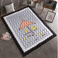 棉质宝宝爬爬垫儿童爬行垫加厚可机洗婴儿地毯地垫防滑客厅家用夏