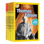 美国国家地理分级读物 National Geographic KIDS Readers 英文原版 人物传记10册 儿童