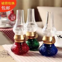 中式古典怀旧灯led创意老式吹控小台灯充电暖黄光小灯仿古煤油灯