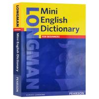 朗文迷你英语小词典 英文原版 Longman Mini English Dictionary 英语词汇书 英文版 图解