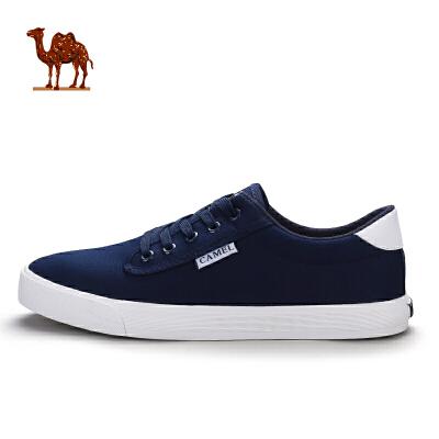 骆驼牌 帆布鞋 男女款板鞋低帮经典小白鞋夏季情侣简约运动休闲鞋