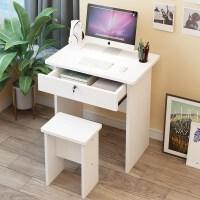简易电脑桌儿童单人写字桌椅套装书桌简约学生家用卧室桌子带抽屉