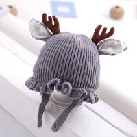 �和�帽子冬季女����毛�帽6��月-3�q1��横��2秋冬天女孩�o耳帽2 均�a