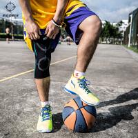 准者篮球运动护膝保暖 专业跑步足球羽毛球运动护膝护具男女