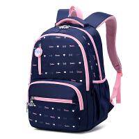 双肩包女高中初中学生书包小学生女孩四年级大容量背包