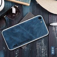 苹果6splus手机壳iphone6真皮男款保护套6s皮纹商务防摔plus高档皮革全包女新款ipho