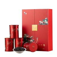 八马茶叶 武夷闽北大红袍岩茶乌龙茶散茶爱上茶叶礼盒装120g