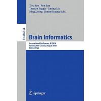【预订】Brain Informatics 9783642153136