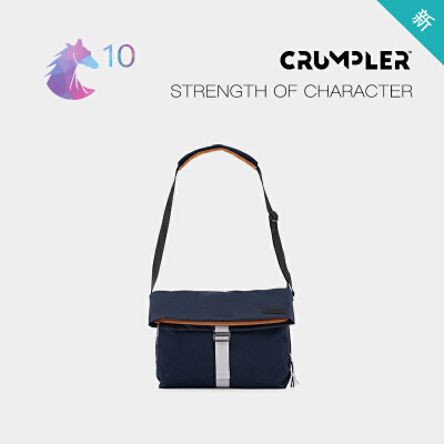 CRUMPLER澳洲小野人STRENGTHOFCHARACTER休闲斜挎包单肩包时尚
