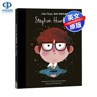 英文原版 小男孩 大梦想:斯蒂芬・霍金 Stephen Hawking 进口书外版书 经典小说读物 青少年小学生课外阅读