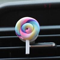 汽车出风口香水夹装饰卡通韩国女士车载风口香水车用空调口香水