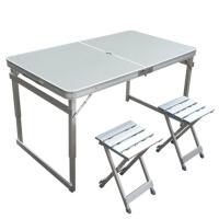 户外铝合金摆摊桌 餐桌 折叠桌子 书桌  折叠桌椅   电脑桌