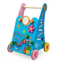 木丸子 精品多功能学步车婴幼儿童宝宝木制质益智力玩具生日礼物