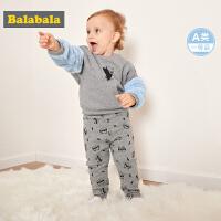 巴拉巴拉宝宝冬装女新款婴儿裤子女童长裤儿童打底裤PP裤加厚