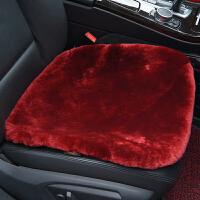 豪华羊毛坐垫毛坐垫无靠背单片座垫 冬季羊毛汽车坐垫皮毛一体 加厚款丨