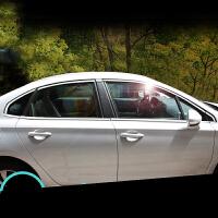 车窗亮条于雪铁龙C4世嘉外饰改装C4世嘉车窗不锈钢装饰条