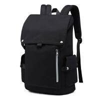 新款网红男士双肩包大容量休闲电脑背包旅行简约学生时尚潮流书包