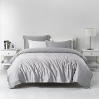 拉芙菲尔天丝四件套夏季冰丝滑裸睡床单床上用品夏凉被子被套床品1