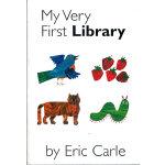 Eric Carle: My Very First Library 我的第一个图书馆(卡板书)9780399246661