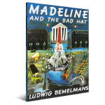 【顺丰速运】百年经典美绘本系列 Madeline and the Bad Hat 玛德琳和坏帽子 英文原版少儿读物