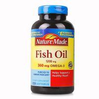 保税区直发 美国Nature Made 莱萃美 深海鱼油软胶囊1200mg 220粒