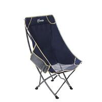 户外便携靠背椅凳子休闲沙滩躺椅午休椅月亮椅子折叠椅子