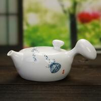茶�� 陶瓷 �劝�� 功夫茶具手�L茶�� 青瓷泡茶�� 手工茶��