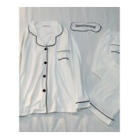 秋冬款情侣睡衣女长袖薄款休闲开衫男士家居服套装春秋季