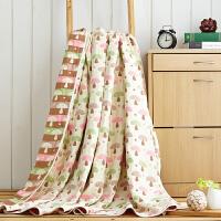 六层纱布毛巾被夏季空调夏凉被纯棉双人单人毛巾毯子床单全棉儿童