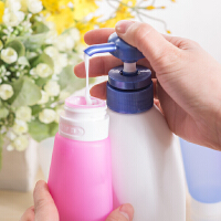 旅行装空瓶子套装硅胶分装瓶化妆品旅游用品小瓶洗发水便携洗漱包