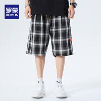 【2折预估到手价:61叠券更优惠】罗蒙男士休闲短裤透气舒适清凉冰爽