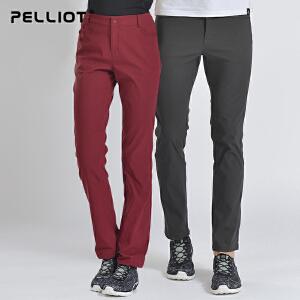 【保暖节-狂欢继续】法国PELLIOT户外速干裤男女 夏季薄款长裤快干裤徒步登山运动裤子