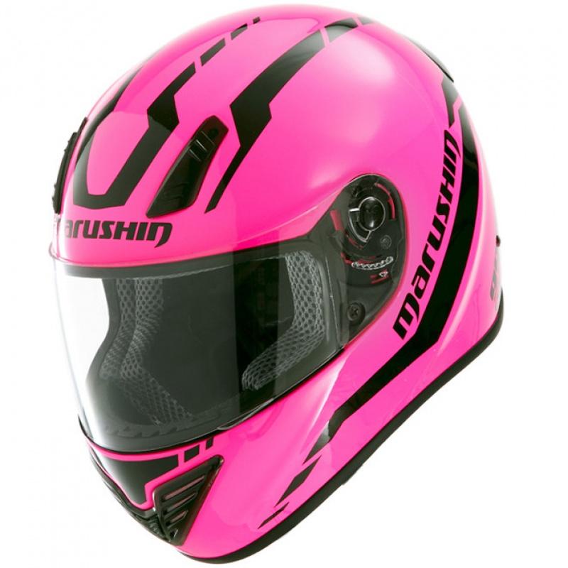 马鲁森摩托车头盔全盔marushin 999RS送黑色防雾镜片
