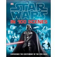 现货 星球大战中的100个场景 英文原版 Star Wars In 100 Scenes 星球大战设定