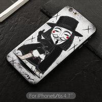 citycase苹果iphone6plus手机壳套六p个性创意潮牌6s卡通新款潮男全包防摔6p英雄男
