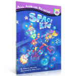英文原版绘本 All aboard Reading Peinguin 宇宙孩子 SPACE KID 汪培�E入门绘本
