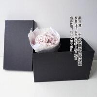 玫瑰香皂干花礼盒 花束礼盒创意礼品永生花送女朋友爱人礼物