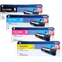 原装兄弟 Brother TN-370系列 TN-370BK黑色 TN-370C青色 TN-370M品红色 TN-37