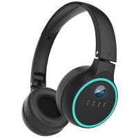 C-201A大学英语四六级听力专用耳机大学生无线音频AF调频fm收音功能四级听力耳机头戴式46 黑色耳机【送电池】 官
