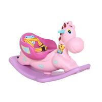 ?儿童室内摇摇马塑料木马婴儿玩具男女音乐摇马摇椅宝宝周岁礼物?